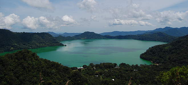 Get Insipired at the Largest Volcanic Lake - Lake Sano Nonggoang